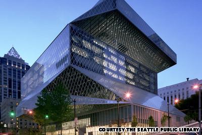 Thư viện trung tâm Seattle, Mỹ