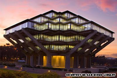 Thư viện Geisel, ĐH California, San Diego, Mỹ