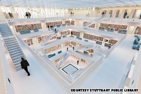 Thư viện Stuttgart City, Đức